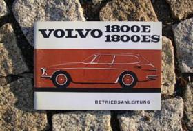 Betriebsanleitung Volvo 1800 E / ES (1971) Schneewittchensarg