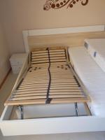 Foto 2 Bett mit Federholzrahmen u. Matratzen 2 Jahre alt
