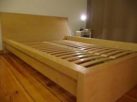 Bett inkl. Lattenrost, 140x200 Liegefläche