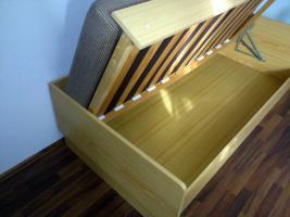 Foto 5 Bett mit integriertem Bettkasten und hochwertiger Matratze