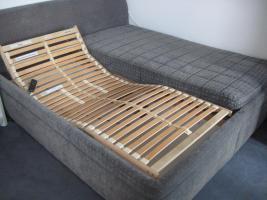 Foto 2 Bett komplett oder nur Lattenrost (2x) mit Motor und Fernbedienung