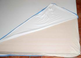 Foto 9 Bett massiv Kiefer mit Lattenrost und Matratze (140x200cm)