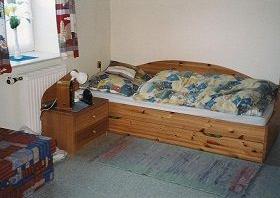 Bett samt Lattenrost