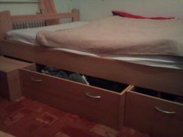 Bett, Funktionsbett 140 x 200
