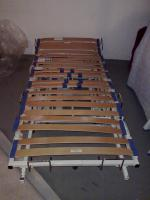 Bett - Homematic - Pflegesystem ''Vario Plus'' Krankenbett mit Lattenrost