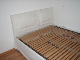 Bett, wei�, 2J, 140/200 mit Lattenrost und Mehrzonen Komfortmatratze