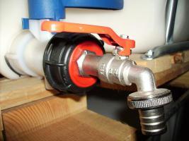 Bewässerung!! Auslaufhahn 3/4Zoll IBC Container Wassertanks Faß 500-1000ltr! 1`Zoll Schlauchanschuß