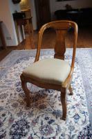 Biedermeier Gondelstuhl mit Sitzpolster