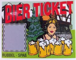 Foto 3 Bierlose, Biertickets, Getränketickets, Stammgastkarte, Rubbellose