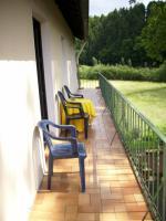 Balkon (Blickrichtung Wald)
