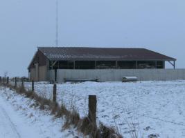 Foto 2 Biete neuen Offenstall 25 auf 25 m mit 6,5 ha Weide und Lagerplatz