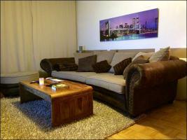 big sofa landscape textil leder suuuuuper von privat. Black Bedroom Furniture Sets. Home Design Ideas