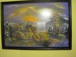 Biker Bild