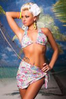 Bikini mit Strandrock   ART:  BI752012