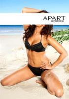 Bikini m. Fransen schwarz - APART - Gr. 38B - Neu & OVP