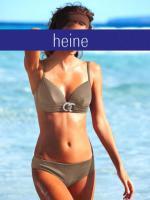 Bikini m. Schmuckelement - heine - taupe - Größe 38 C-Cup - NEU
