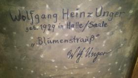 Foto 2 Bild Wolfgang Heinz Unger ''Blumenstrauß''