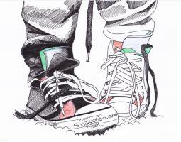 Foto 4 Bilder, Gem�lde, Zeichnung