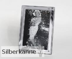 Bilderrahmen Alton 9x13cm, versilbert / SILBER plated