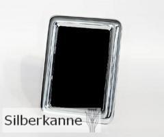 Bilderrahmen Barking 20x25cm, versilbert / SILBER plated