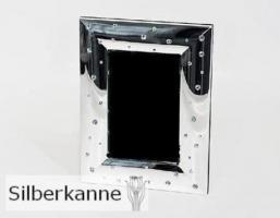 Bilderrahmen Diamond 10x15 cm, versilbert / SILBER pl.
