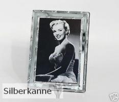 Bilderrahmen Kreuzband 9x13 cm, versilbert / SILBER plated