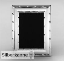 Bilderrahmen Kreuzband 9x13cm, versilbert / SILBER plated