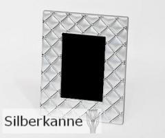 Bilderrahmen Paloma 13x18 cm, versilbert / SILBER plated