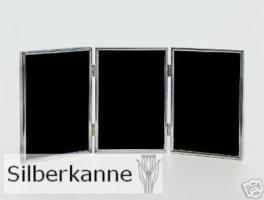 Bilderrahmen Toskana 3x10x15cm, versilbert / SILBER plated