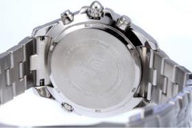 Foto 2 Bitte hier Casio Edifice EF-543D-2AVDF neuwertige schöne Uhr für Herren.