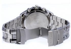 Foto 3 Bitte hier Casio Edifice EF-543D-2AVDF neuwertige schöne Uhr für Herren.