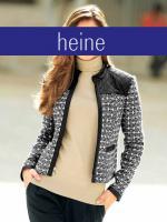 Blazer - heine - schwarz-weiß - Größe 38 - NEU