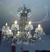 Bleikristall Luster schwer und dekorativ