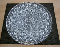 Foto 2 Bleikristall Schale/ Platte