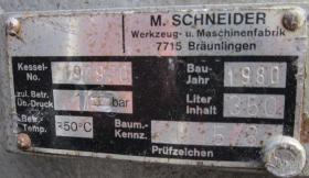 Foto 5 Blitz-Schneider DEN 650-Typ 59-1499 Kolbenkompress