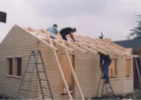 Foto 17 Blockbohlengaragen, Holzgaragen, Garagen, nach Kundenmaß,