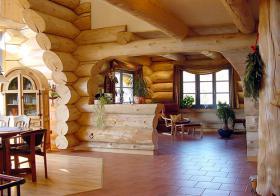 Foto 4 Blockhäuser aus karelischen Kiefer