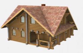 Foto 11 Blockhäuser aus karelischen Kiefer