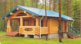 Foto 2 Blockhäuser aus karelischen Kiefer