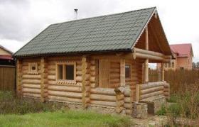 Foto 3 Blockhäuser aus karelischen Kiefer