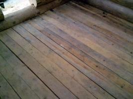 Foto 4 Blockhütte Naturstamm Gartenhütte