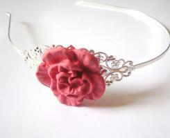 Blüten Vintage Haarreif