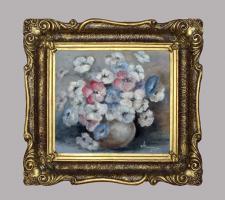 Blumenstilleben - Ölmalerei