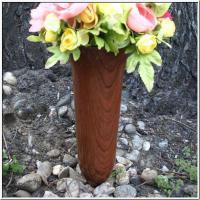 Blumenschmuck Grabvase