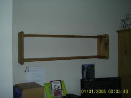 Board, Holz, gelaugt, geölt, an Selbstabholer abzugeben