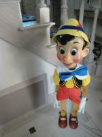 Bob Baker sehr selten Pinocchio marionette limited edition Nr. 131/200
