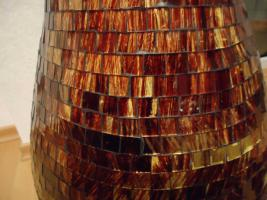 BodenVase XXL (82cm) u pass. Schale GLASMOSAIK Mosaik ...