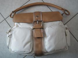 Bogner Handtasche , Schultertasche weiß Neuware !!!!