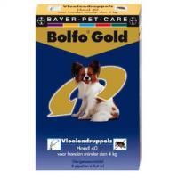 Bolfo Gold ist das neue Besch�tzer gegen Fl�he f�r Hunde und Katzen