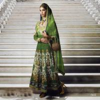 Foto 2 Bollywood Designer Salwar stoff Set
